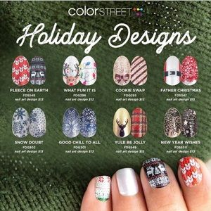 Color strips for nails. 100% nontoxic nailpolish
